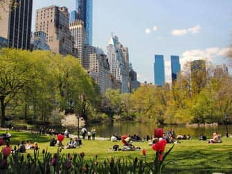 ニューヨーク 公園 セントラルパーク