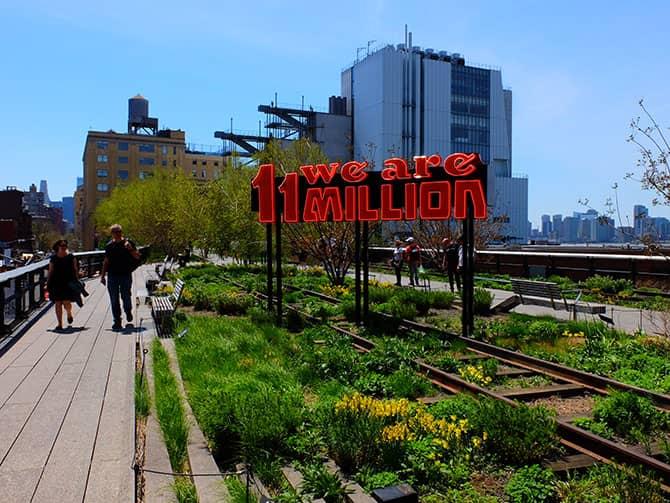 ニューヨーク 公園 - ハイラインパーク