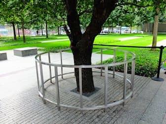 ニューヨーク 9/11メモリアル - サバイバーツリー