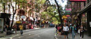 ニューヨークのグリニッチヴィレッジ