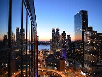 ニューヨーク スカイルームからの眺め