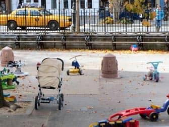 ニューヨーク ブリーカーストリートプレイグラウンド