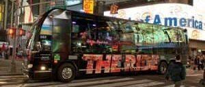 ニューヨークシティのツアー「ザ・ライド」
