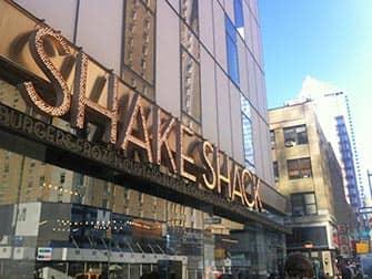シェイクシャック ニューヨーク