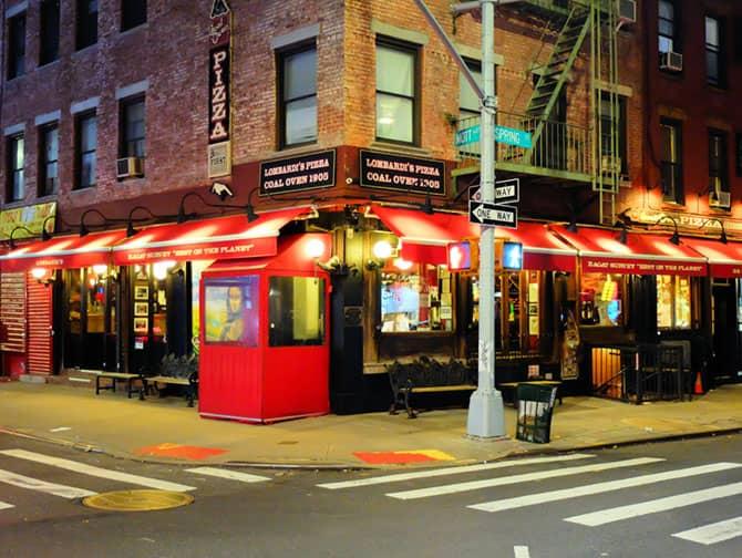 ニューヨークでいちばん美味しいピッツァ - ロンバルディーズ