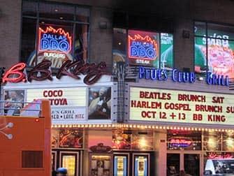 ニューヨークでのジャズ BBキング ブルースクラブ