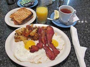 ニューヨークでの朝ごはん