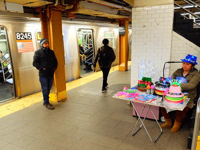 ニューヨーク 地下鉄 - プラットフォーム