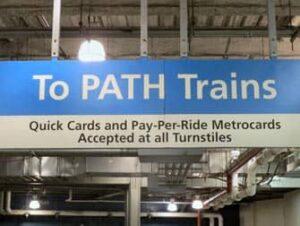 ニューヨーク PATH トレイン