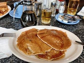 パンケーキの朝ごはん ニューヨーク