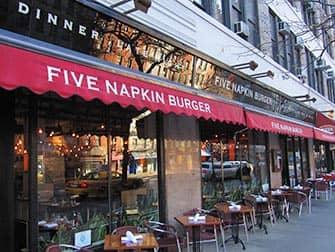 ファイブナプキンバーガー ニューヨーク