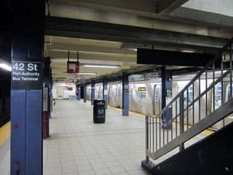 42ストリート 地下鉄駅