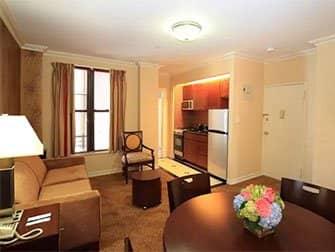 ニューヨークのアパートメント - ラジオシティ アパートメント インテリア