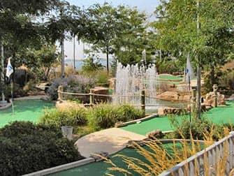 トライベッカ ピア25のミニゴルフ ニューヨーク