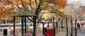ニューヨークの子どもの遊び場 ブリーカーストリートプレイグラウンド
