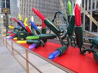 ニューヨーク クリスマス - 電飾