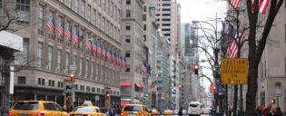 ニューヨーク 5番街での週末ショッピング