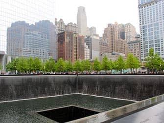 NYC ファイナンシャルディストリクトツアー 911メモリアル