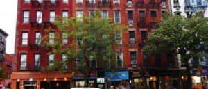 ニューヨークのイーストビレッジ