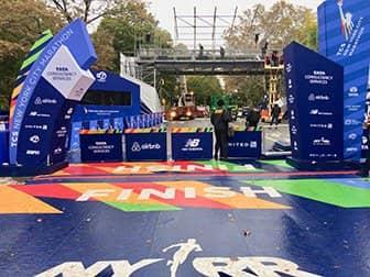 ニューヨークマラソン - ゴール