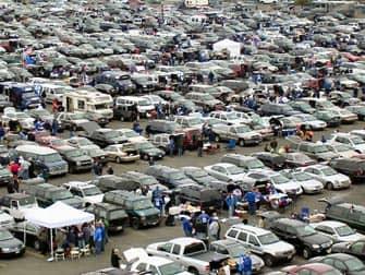 ニューヨーク・ジャイアンツ 駐車場