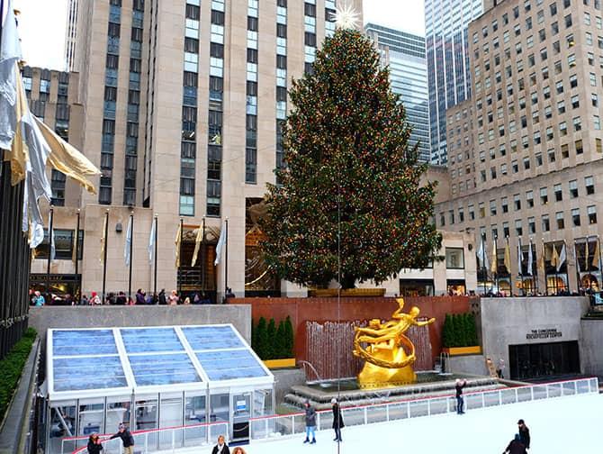 ニューヨーク スケート - ロックフェラーリンク