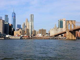 ニューヨーク ピッツァツアー - ブルックリンブリッジパーク