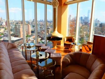 ニューヨーク ルーフトップバー トップオブザスタンダード 景色