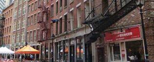 ニューヨーク ストーンストリートのレストラン