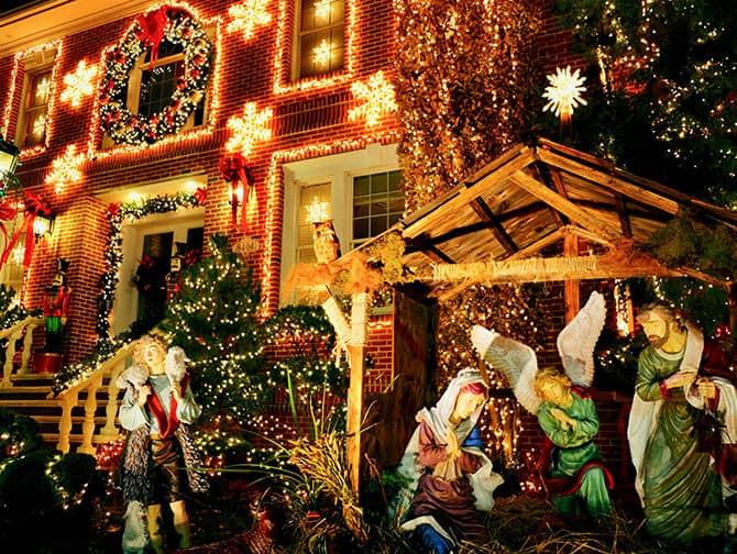 ダイカーハイツ クリスマス イルミネーション - 降誕シーン