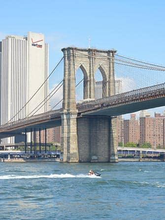 ニューヨーク ジェットスキー - ブルックリンブリッジ