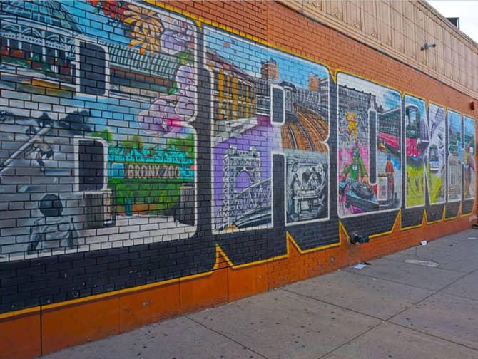 ブルックリン クイーンズ ブロンクス ツアー - ブロンクスのストリートアート