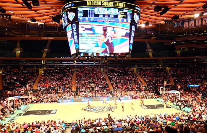 ニューヨーク リバティ バスケットボール 雰囲気