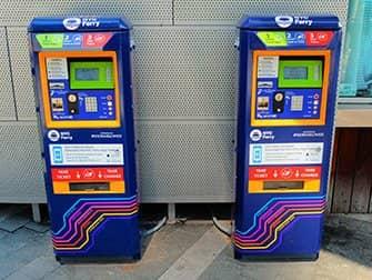 ニューヨーク NYCフェリー - 券売機