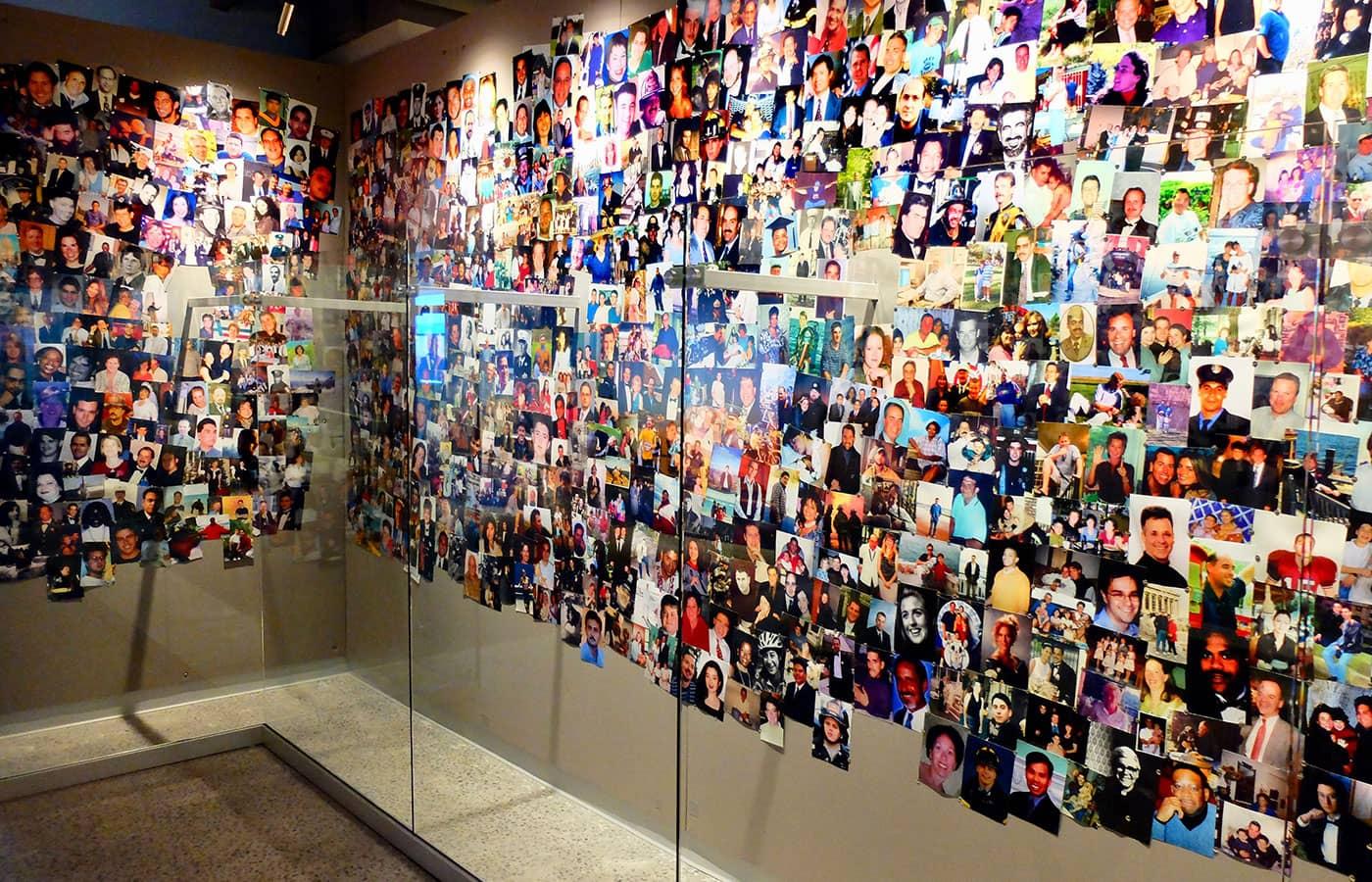 ニューヨーク 911 トリビュート博物館 - フォトウォール