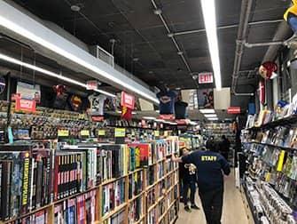 ニューヨーク スーパーヒーロー ツアー - コミックブックストア