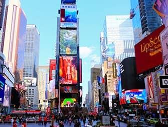 ニューヨーク スーパーヒーロー ツアー - タイムズスクエア
