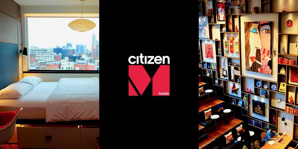 シティズンM ニューヨーク バワリー ホテル