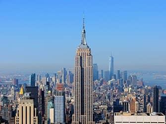 ニューヨーク サイトシーイング フレックスパスとエクスプローラパスの違い - エンパイアステートビル