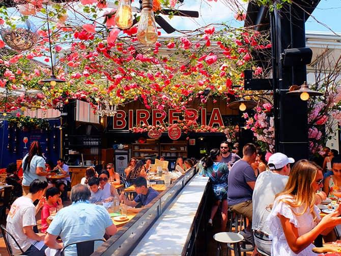ニューヨークのレストラン - ビッレリア