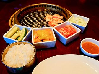 ニューヨークのレストラン - ガオンヌリの食事