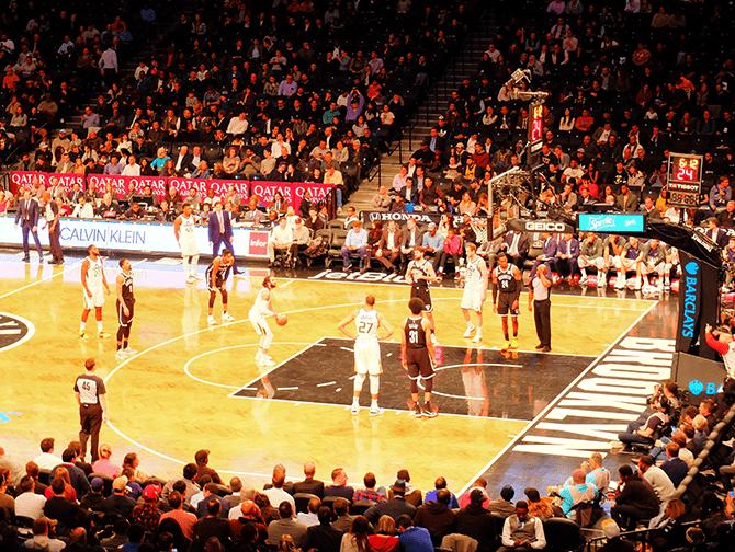 ニューヨーク スポーツ試合日程 - ブルックリン・ネッツ
