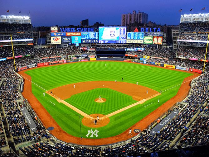 ニューヨーク スポーツ試合日程 - NYヤンキース
